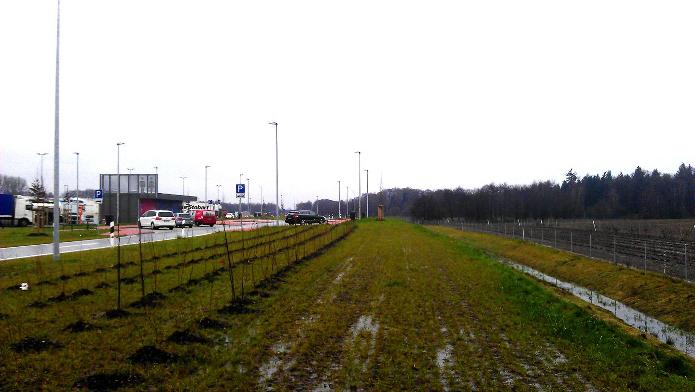 Landschaftsplan für die Rastanlagen an der A1/A30